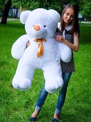 Медведь Ветли 130 см Белый