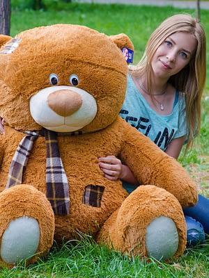 Медведь Тедди 140 см Коричневый