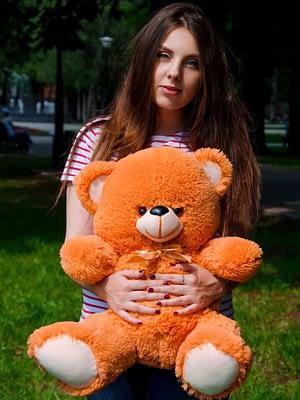 Медведь Томми 65 см Карамельный