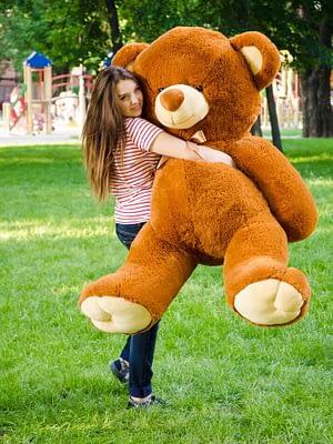 Медведь Томми 180 см Коричневый