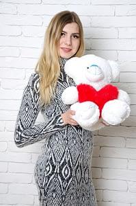Мишка на День Влюбленных
