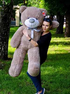 Медведь Рафаэль 140 см Капучино