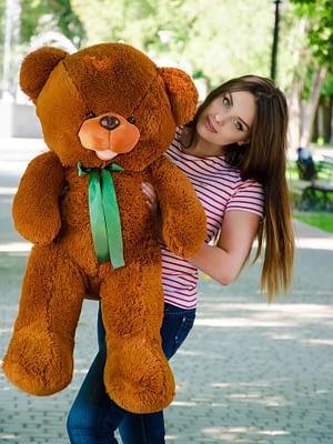 Медведь Бант 110 см Коричневый