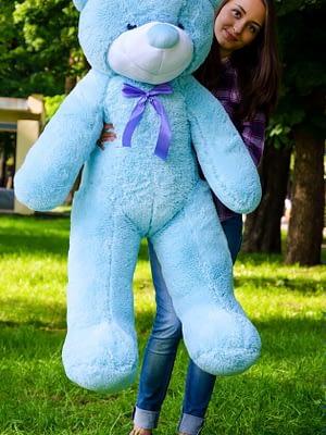 Медведь Рафаэль 140 см Голубой