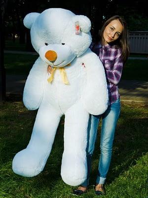 Медведь Рафаэль 160 см Белый