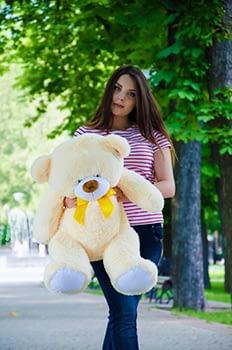 Медведь плюшевый 100 см