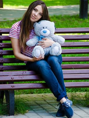 Медведь Тедди 60 см Серый