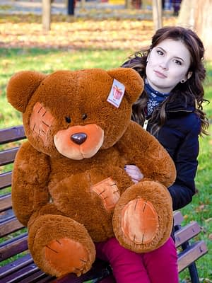 Медведь Потап 90 см Коричневый