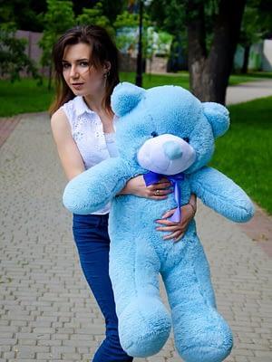 Медведь Рафаэль 100 см Голубой