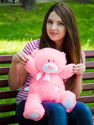 Медведь Тедди 60 см Розовый