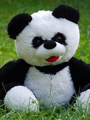 Панда сидячая 40 см
