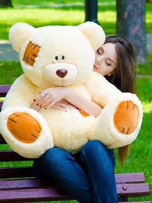 Медведь Потап 90 см Персик