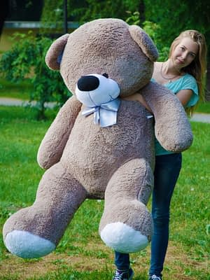 Медведь Бойд 200 см Капучино