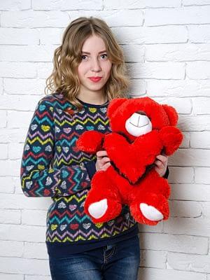 Медведь Тини 50 см Красный