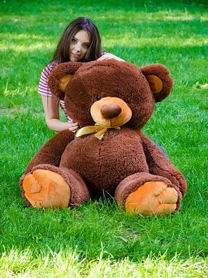Медведь Томми 150 см Шоколадный