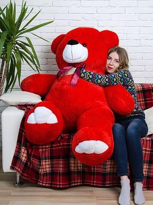 Медведь Ветли 160 см Красный