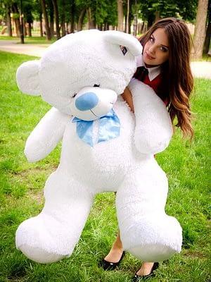 Медведь Бойд 160 см Белый