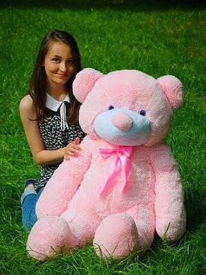 Медведь Рафаэль 120 см Розовый