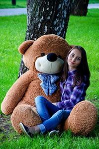 Коричневые плюшевые медведи