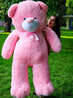 Медведь Ветли 200 см Розовый