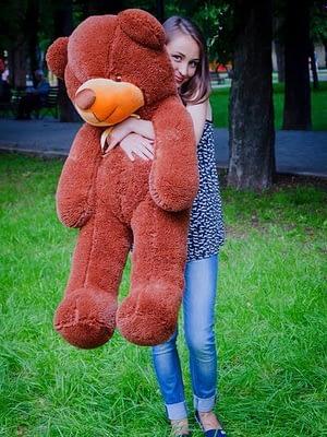 Медведь Рафаэль 120 см Шоколадный